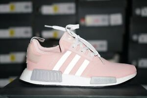 finest selection 95dfe 4c5a1 Details about Adidas NMD R1 BY3059 Womens RARE Vapor Pink Grey Onyx Boost  limited