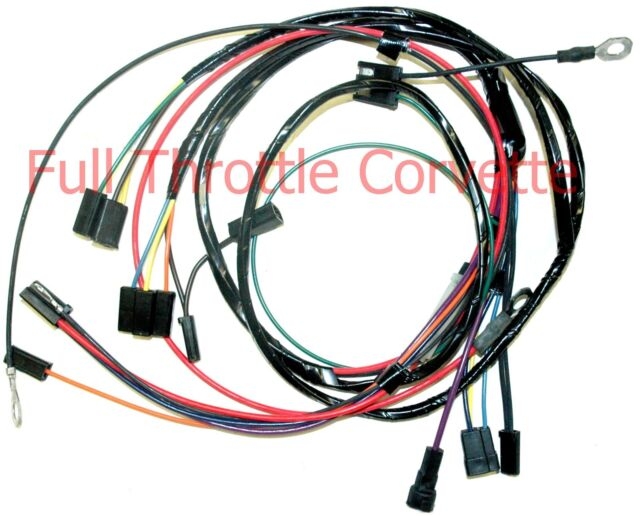 1966 corvette a c air conditioning wiring harness ebay Corvette Seats 1966 corvette a c air conditioning wiring harness new