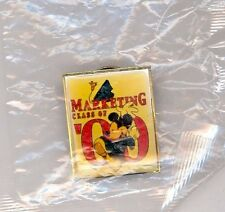 Yr 2000 Disney WDW Marketing Class Graduate Mickey Mouse Cast Pin SEALED