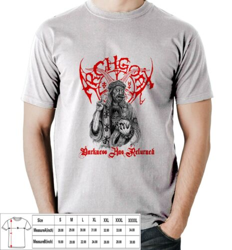 Archgoat blackened death metal band Mens T-Shirt S,M,L,XL,2XL,3XL,4XL USA Size