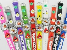 Make Offer 3 New Wholesale Lot Angry Bird Wrist Watch Character Toy Black ONLY