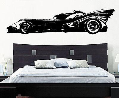 Batman Batmobile Car Superhero Justice League Gotham Decal Wall Sticker Picture