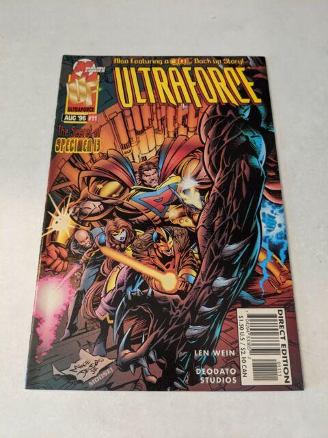 Ultraforce #11 August 1996 Malibu Comics