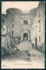 Napoli Castelnuovo maschio angioino postcard cartolina KF3490
