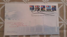 2005 CANADA- THE CANADIAN FLAG SERIE- FDC STAMPS