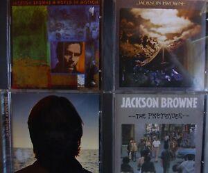 Jackson Browne- 4-CD-Sammlung (The Pretender ohne Barcode)