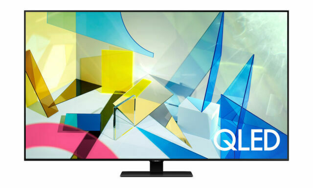 Samsung QN75Q80 QLED 75 Quantum 4K UHD HDR Smart TV . Available Now for 1799.00