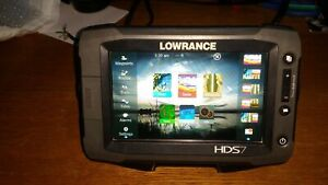 Lowrance HDS-7 Gen2 Touch Fishfinder / GPS Chartplotter With Insight USA