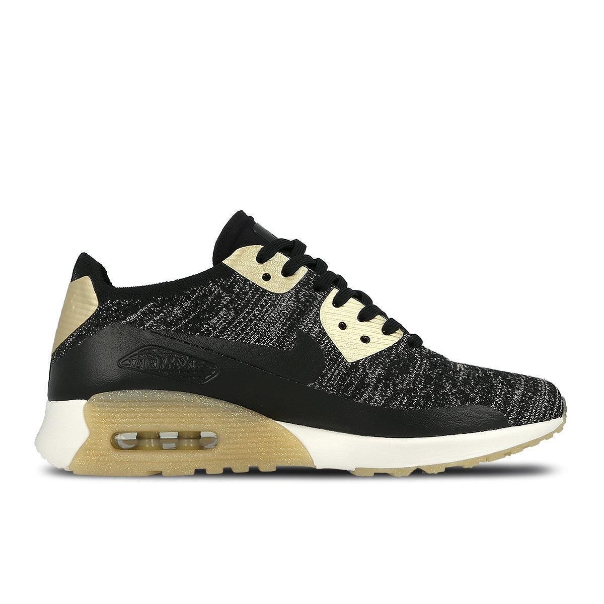 Da Donna Nike Air Max 90 Ultra 2.0 FK mrlc NERO Scarpe da ginnastica 881563 001