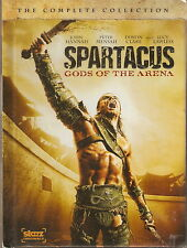 SPARTACUS: GODS OF THE ARENA. John Hannah, Lucy Lawless (2xDVD BOX SET 2011)