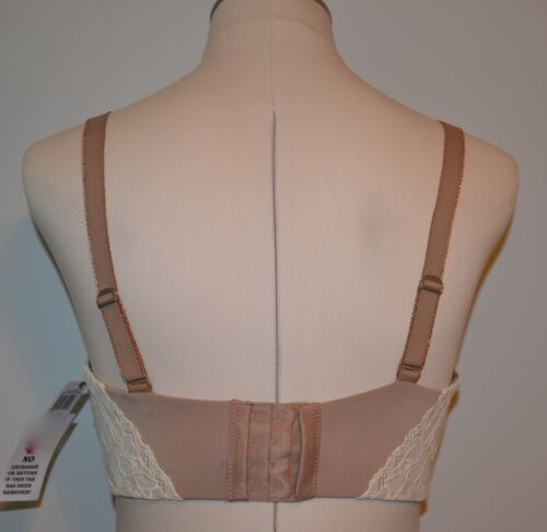 Parisa Fe Florence Convertible Plunge Bra 32D  Lace Beige  #PT1037 Brown Sugar