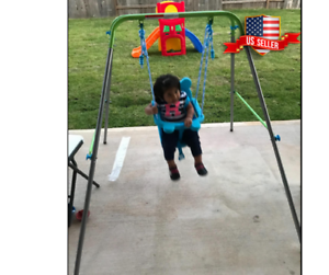 Image Is Loading Swing For Baby Boy Toddler Set Frame
