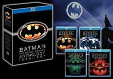 BATMAN ANTHOLOGY Original Complete Collection Box Set Bluray Part 1+2+3+Extras