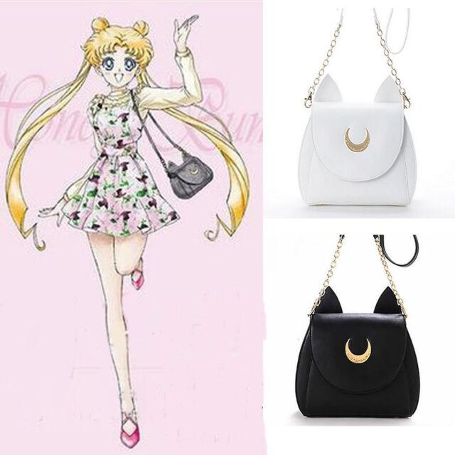 Cosplay Sailor moon 20th Tsukino Usagi PU leather Women Handbag Shoulder Bags