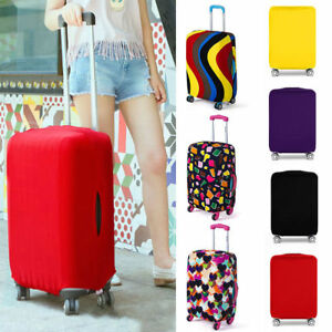 airport-Luggage-Cover-Protector-Elastic-Suitcase-Dust-Proof-Scratch-Resistant