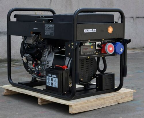 20 KVA Stromerzeuger Stromaggregat Benzin 400V /& 230V  KGG20000LEK-T Kompak