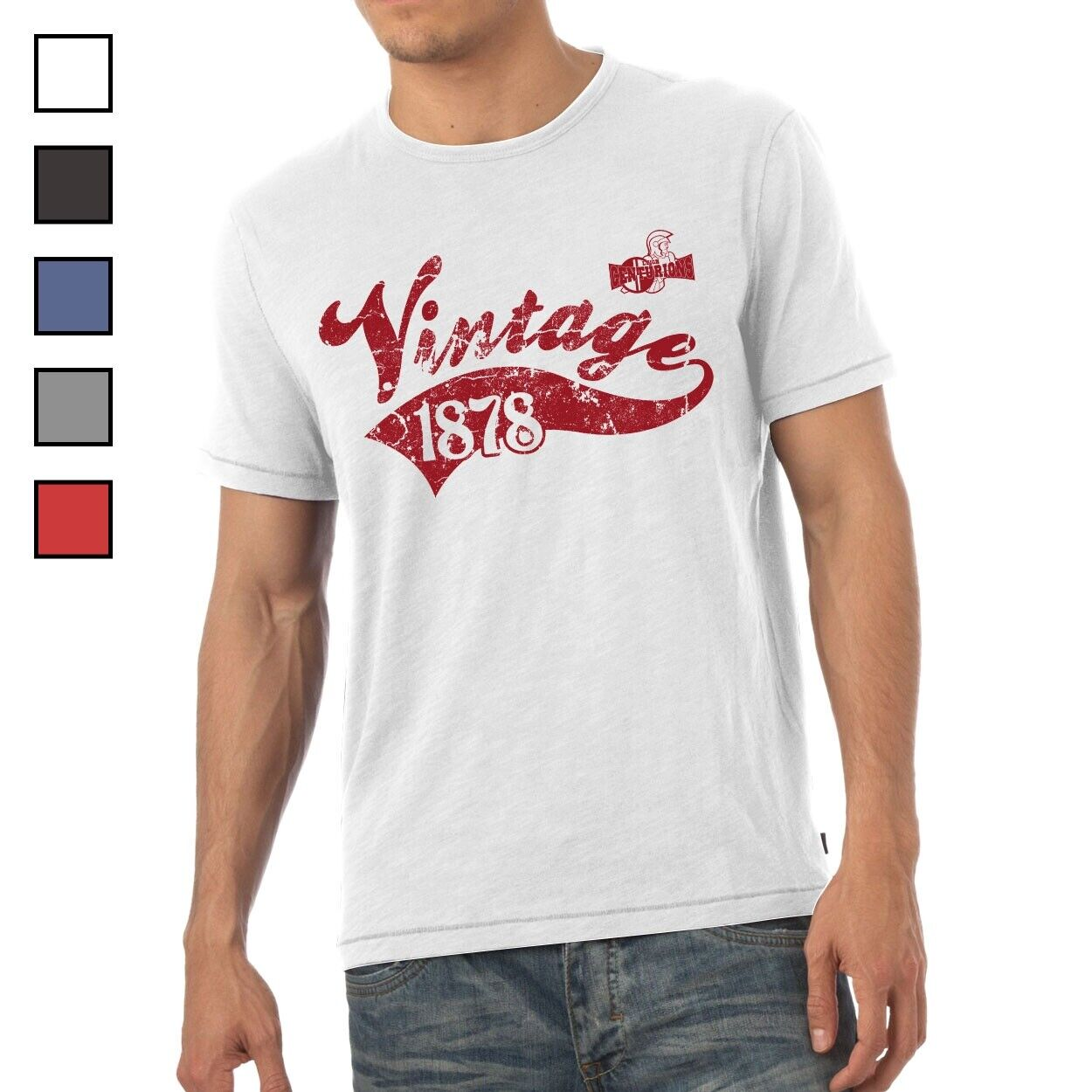 Leigh Centurions - Personalised Mens T-Shirt (VINTAGE)