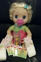 Baby Alive Refill Pack Diapers , Food, 2 Pacifiers, Bottle ' No Doll Included::