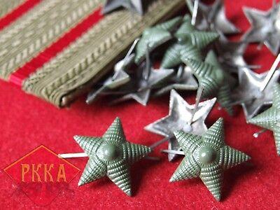 Rangsterne Dienststerne Stern Offizier Rank Star Udssr Ussr Rote Armee Sowjet Im Sommer KüHl Und Im Winter Warm