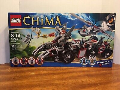 NEW  CHIMA LEGO SET 70009 WORRIZ/' COMBAT LAIR IN FACTORY SEALED BOX RETIRED!