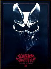 SLAUGHTER TO PREVAIL Misery Sermon 2017 Ltd Ed HUGE RARE New Poster +FREE Poster