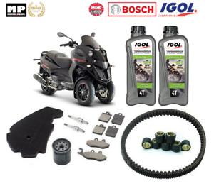 Pack-Revision-Courroie-Filtre-frein-Bougie-Huile-Gilera-Fuoco-500-cc