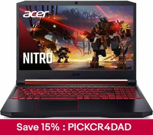 """Acer Nitro 15.6"""" Gaming Laptop i5-10300H 8G RAM 512G SSD Geforce GTX1650"""