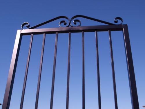 """10 pac Wrought Iron Gate Handrail Split Knuckle Accent Plastic Two Pc USA 5//8/"""""""