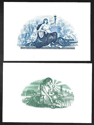 Flawless Condition Engravings CU Two Beautiful Engraved Vignettes