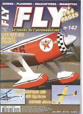 FLY N°142 PLAN : FILOU - ROBIN 2160 / GEE BEE R3 / PHOENIX / EPSILON CA MODELS