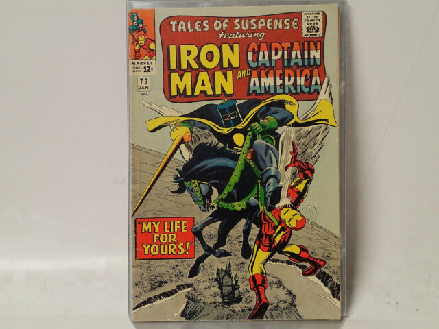 TALES of SUSPENSE issue #73 Marvel Comics 1966 FN- Iron Man Capt. America! C$