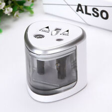 Electric Automatic Pencil Sharpener Battery Operated Kids School Office Gift