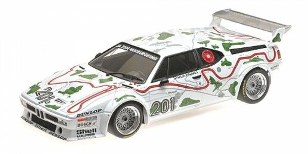 BMW M1 no.201 1000 KM Nürnburgring 1980 ( Piece - Piquet)