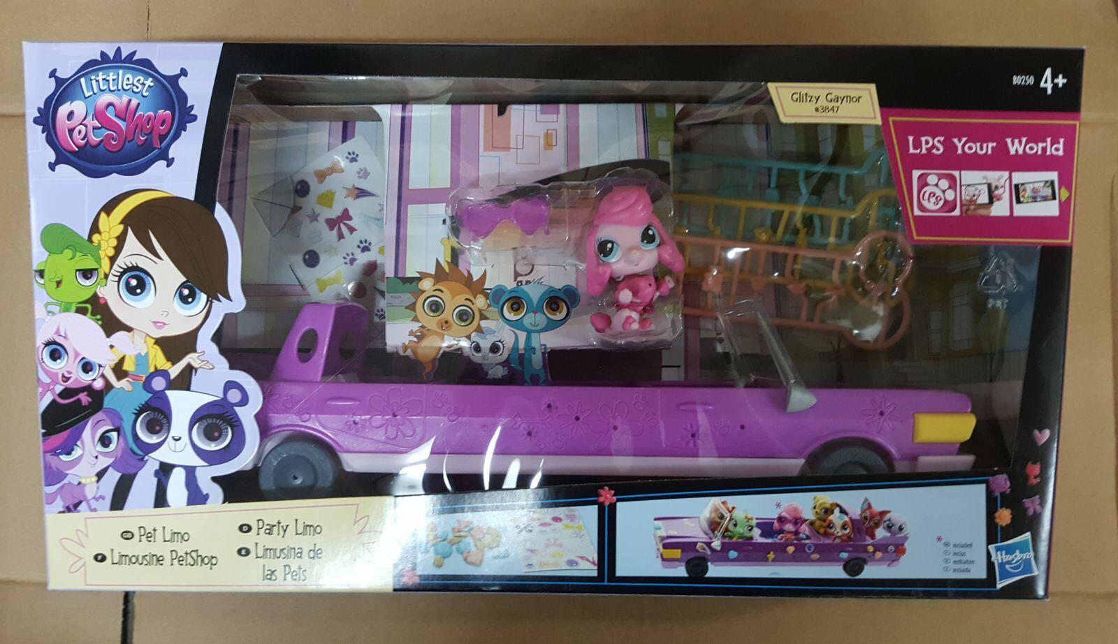 LPS -Lilla Pet Shop Limo Glitzy Gaynor