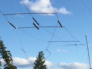 Details about 266' MULTI-BAND (160-6) T3FD TERMINATED FOLDED DIPOLE AMATEUR  RADIO ANTENNA KIT