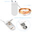 2M-20LED-Battery-Operated-String-Fairy-Light-Warm-White-Christmas-Decoration thumbnail 12