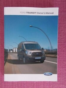Image Is Loading Ford Transit   User Manual Owners Guide