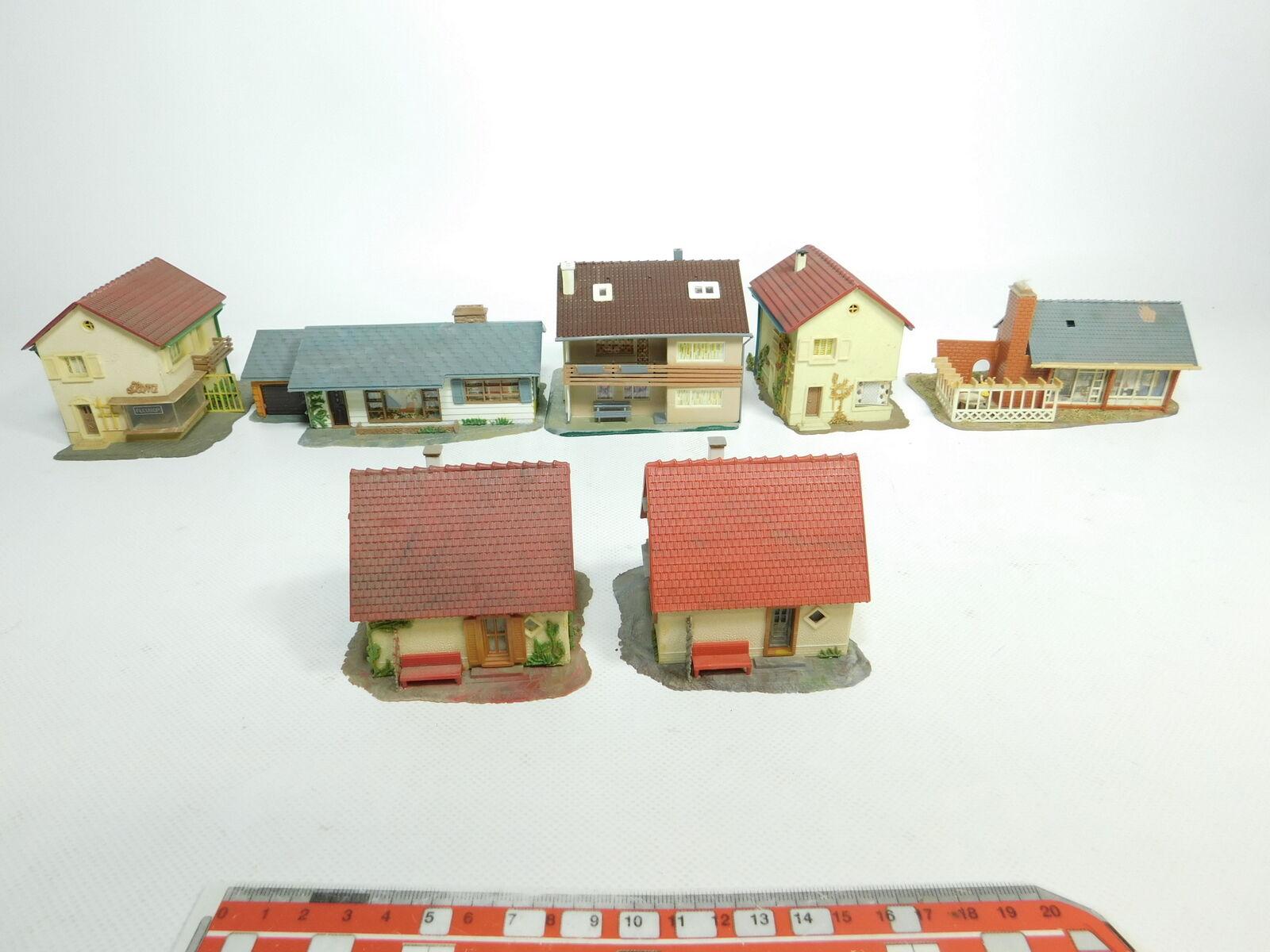 BH273-2   7 X Faller H0 Modelo   Edificios Casa ( Efh + Mfh )  264 Etc.