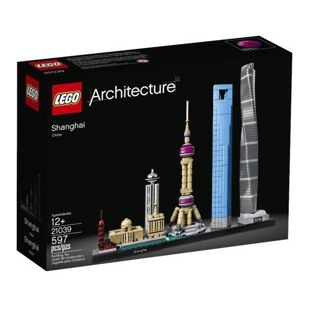 Lego Arquitectura Shanghai 21039-Nuevo En Caja-entrega UK LIBRE