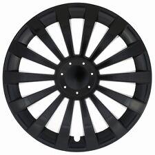 "4 x Radkappen MERIDIAN 16"" Zoll Black Radzierblenden VW,AUDI,BMW, OPEL,SEAT"