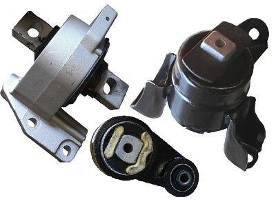 9R1143 3pc Motor Mounts fit 3.0L FWD 2005-2009 Mercury Milan Automatic Trans