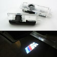 2x M Logo Led Door Courtesy Shadow Projector Light for BMW F30 3 M3 M4 2013-2014