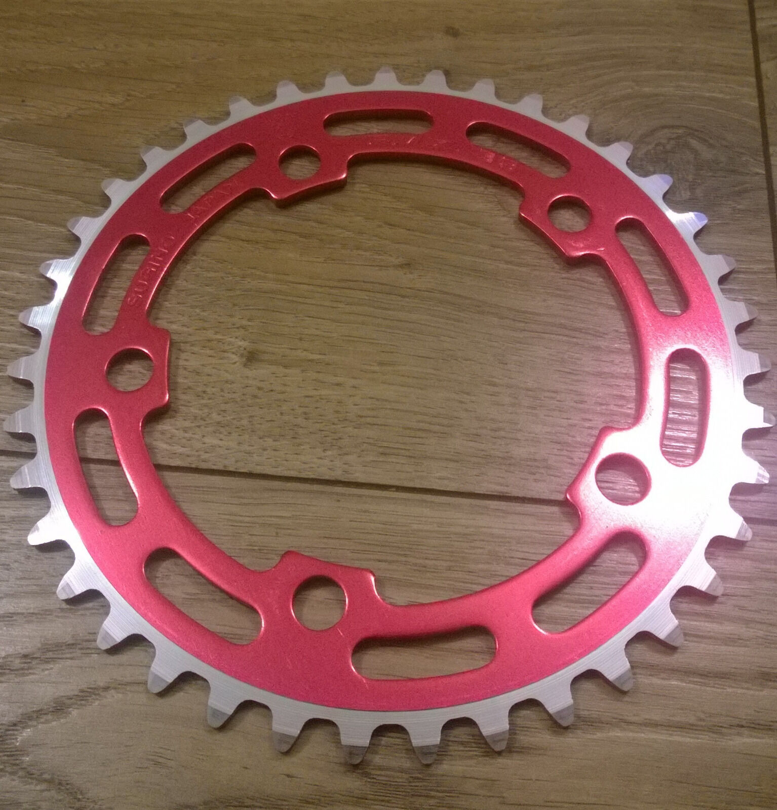 Sugino Red BMX 41T  NOS Chainring - Old School BMX MADE IN JAPAN