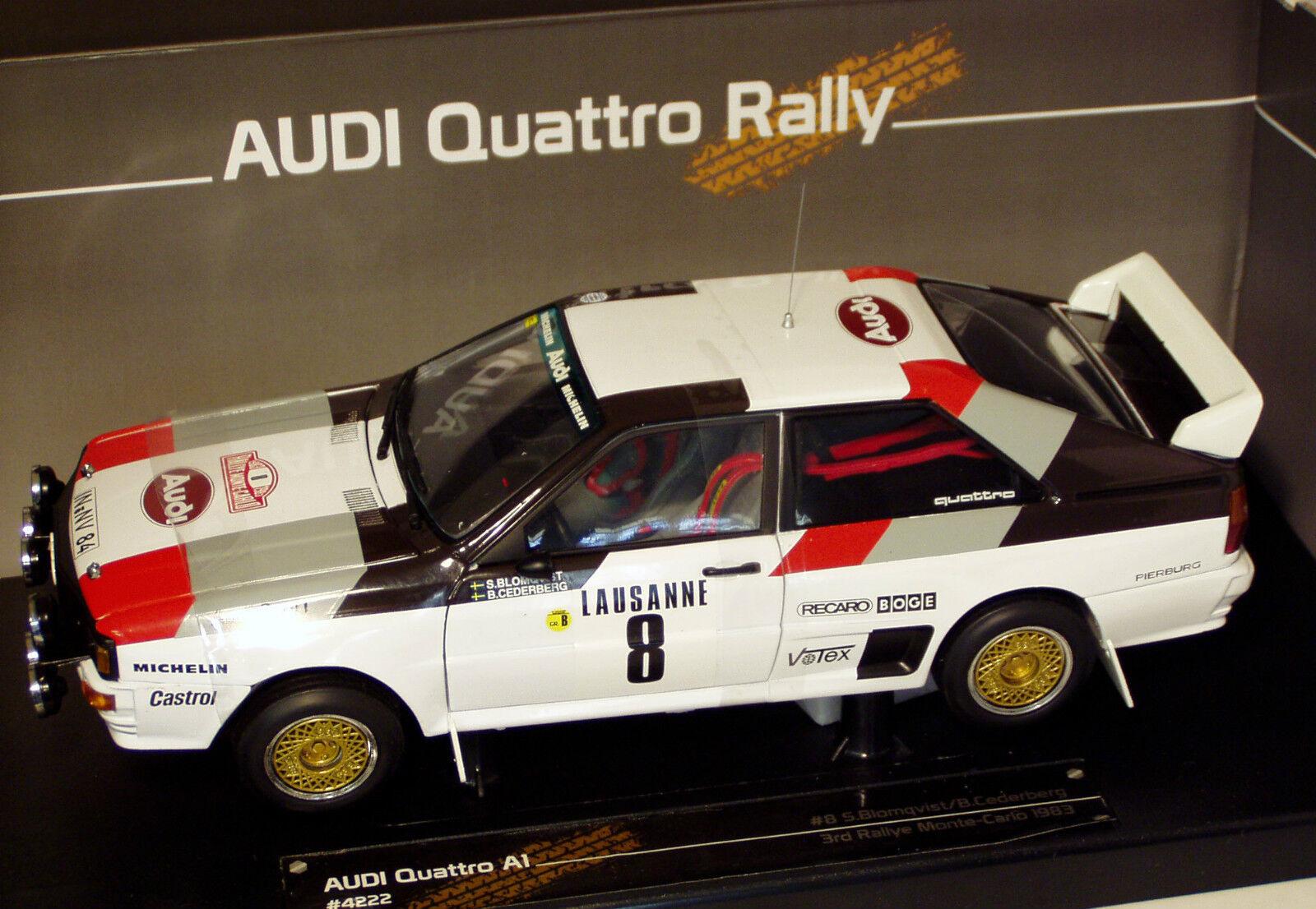 1 18 Audi Quattro A1  Audi Sport  Monte Carlo Rally 1983  S.Blomqvist