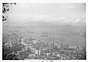 HONG-KONG-PANORAMA-VIEW-1959-SNAPSHOT-PHOTO