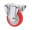 Schwerlastrollen-Polyurethanbereifung-Platte-100-125-150-200-Lenkrolle-Rolle Indexbild 4