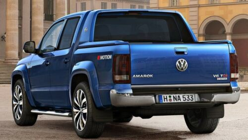 VW AMAROK Chrom Zierleiste Heckleiste Heckblende Teile Chromleiste Tuning