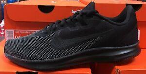 NIKE-Downshifter-9-Men-039-s-Running-Training-Sneakers-Black-Anthracite-AQ7481-005-K