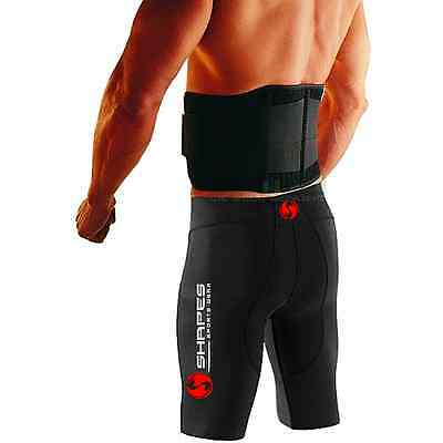 """Double Pull Magnetic Lumbar Lower Back Support Belt Brace Pain Relief - 26""""-50"""""""