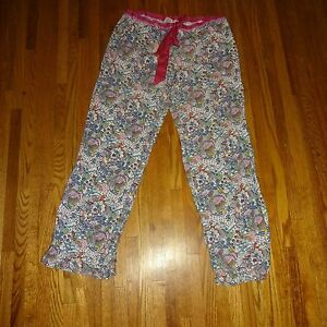 5749f4a9993fd Details about VICTORIA'S SECRET LOVE PINK DOODLE PAJAMAS LOUNGE SLEEPWEAR  PANTS BOTTOMS SMALL